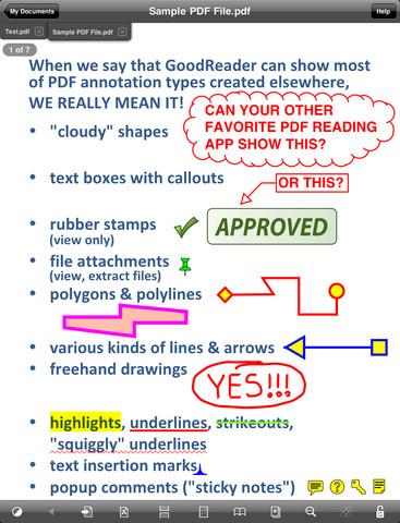 GoodReader el lector de documentos definito para el iPad